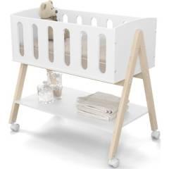 KIDSCOOL - Cunacolecho escritorio 2en1 96x91x57 cm blanca