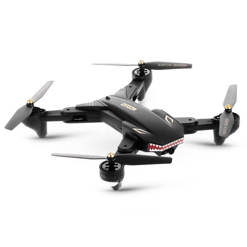 VISUO - Drone xs809s cámara 2mp wifi fpv plegable