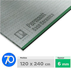 6 mm 120 x244 cm Permanit Ceramic Base para pegar cerámica