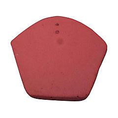 200 x 185 mm Frontón Colonial Rojo Inicio