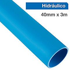 Tubería hidráulica para cementar 40 mm 3 m