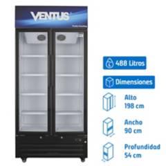 VENTUS - Visi cooler 488 litros lg-550tc