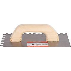 Espátula llana acero 11,5x28 cm