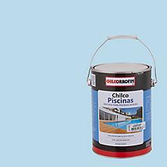 Pintura poro abierto Piscinas 1 galón Celeste Agua