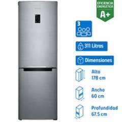 SAMSUNG - Refrigerador no frost bottom 311 litros
