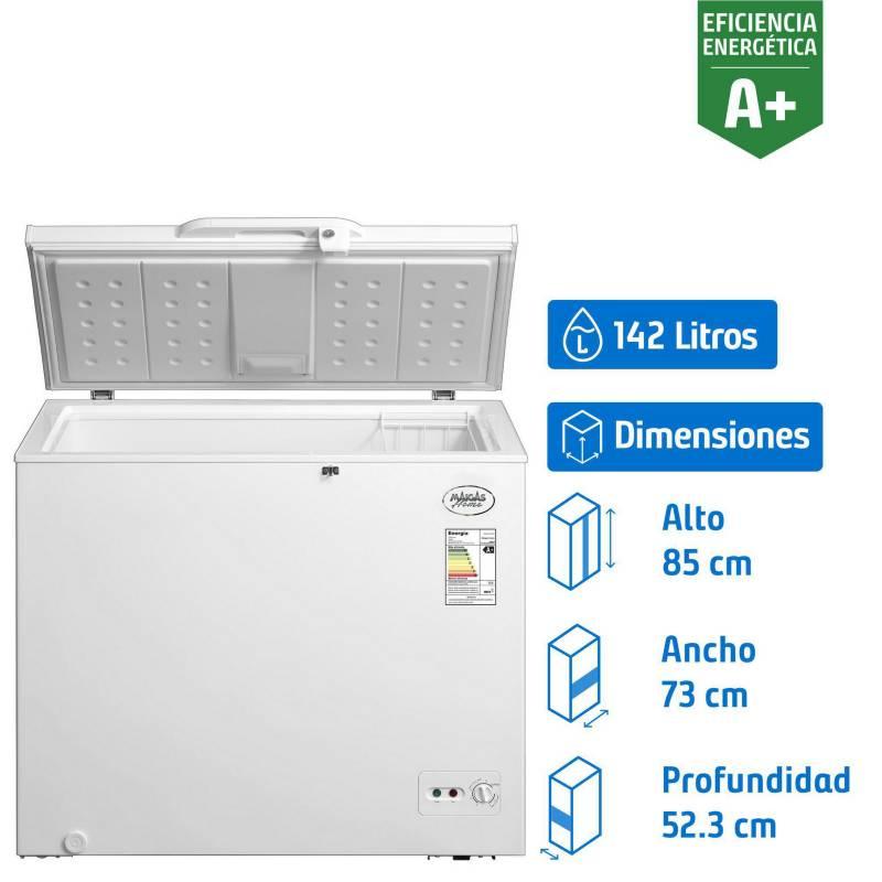 MAIGAS - Congelador horizontal 142 litros dual