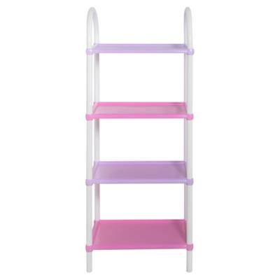 Estante 4 repisas 131x54x38 cm rosado - Sodimac.com 65bf98ca3146