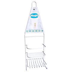 Organizador de ducha plástico Blanco
