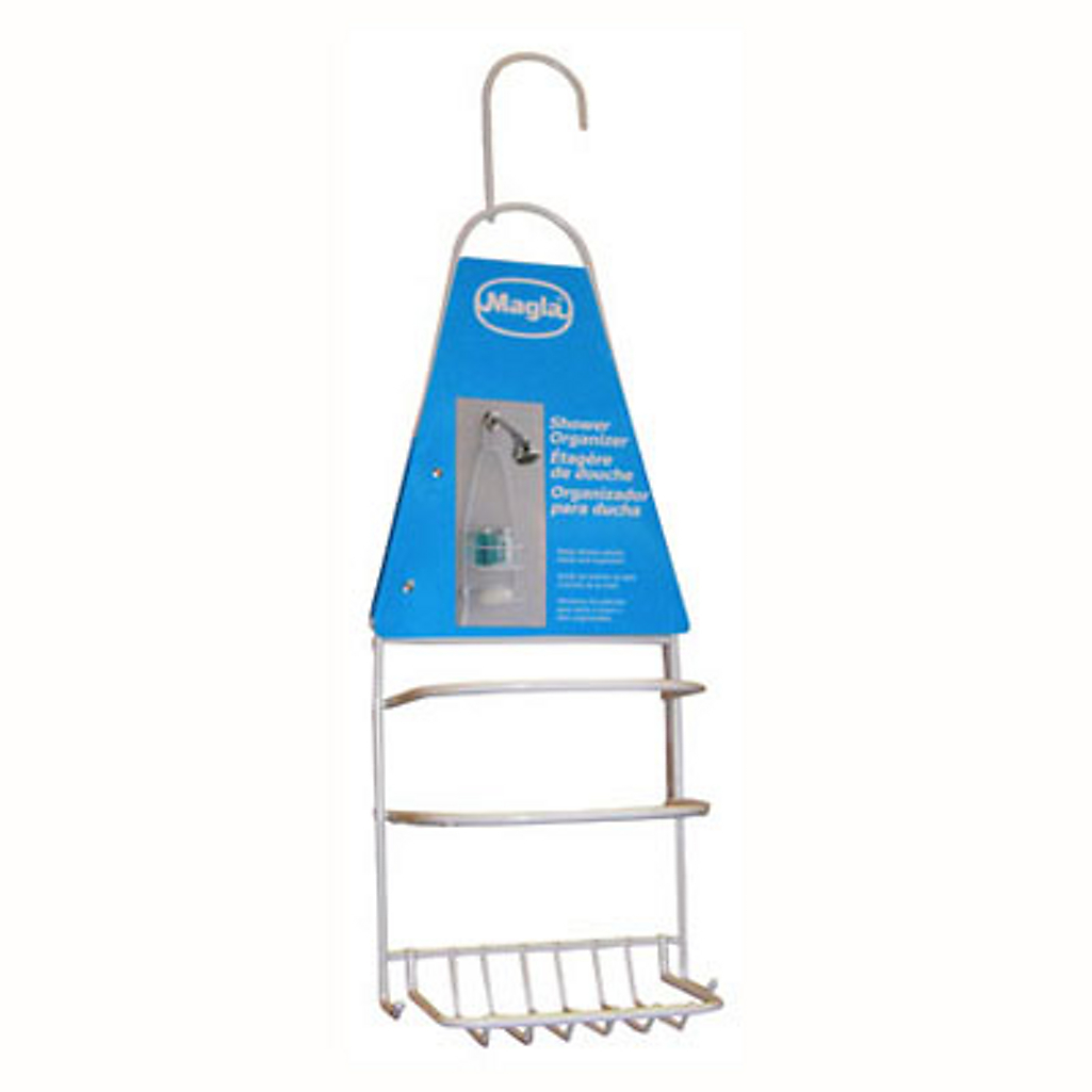 Organizador de ducha plástico Blanco - Sodimac.com 0aee3de15818