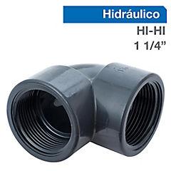 Codo PVC a presión 1 1/4