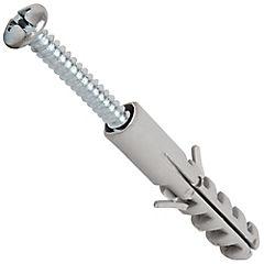 Tarugo con tornillo 8 mm 10 unidades