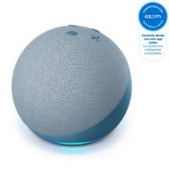 AMAZON - Asistente Amazon Echo Dot 4 Generación Twilight Blue