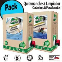 BEOX - Pack Piso Cerámica/Porcelanato + Paño 5 litros