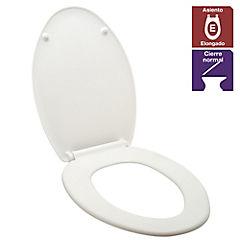 Asiento WC Elongado de Coralink Blanco