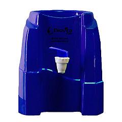 Dispensador de agua soporte plástico azul