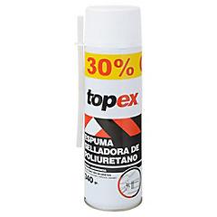 Espuma de poliuretano 340 gr