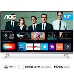 """AOC - Led 50"""" U6305 UHD Smart TV"""
