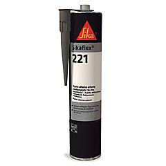 Sellador de poliuretano 370 ml negro