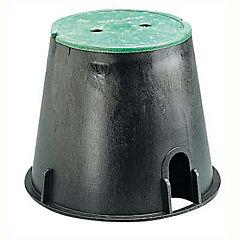 Caja para válvulas circular plástico 43x30 cm