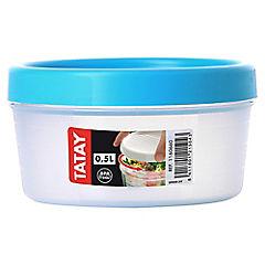 Contenedor de alimentos 0,5 lts Plástico