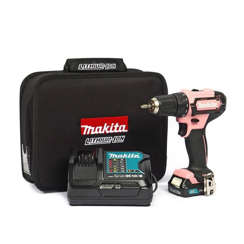 MAKITA - Taladro atornillador inalámbrico 10 mm 12V + 1 batería