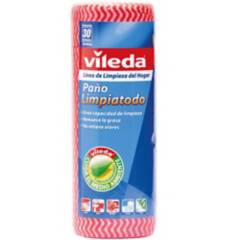 VILEDA - Paño limpiatodo en rollo 30 unidades