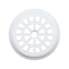 Rejilla para pileta 10 cm redonda Blanca