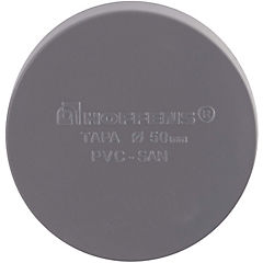 Tapa PVC para cementar 50 mm