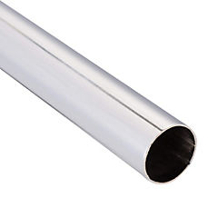 Tubo para cortina metal 16 mm 1 m