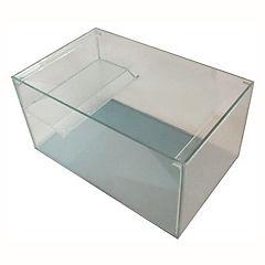 Tortuguero 40x20x25 cm de vidrio