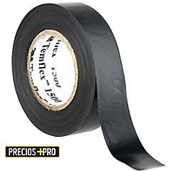 Cinta aisladora eléctrica 18 mm 10 m Negro