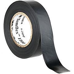 Cinta aisladora eléctrica 18 mm 5 m Negro