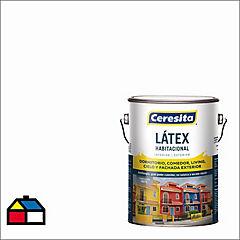 Pintura látex habitacional 1 gl blanco