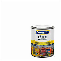 Pintura látex habitacional 1/4 gl blanco