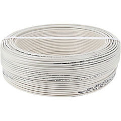 Cable eléctrico 14 AWG 100 m Blanco