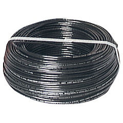 Cable eléctrico (Thhn) 12 Awg 100 m Negro