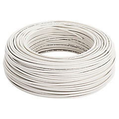 Cable eléctrico 12 AWG 100 m Blanco