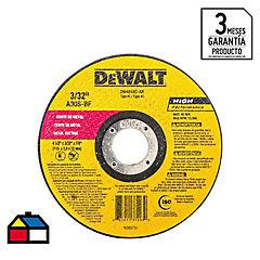 Disco de corte metal 4,5