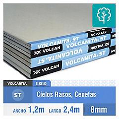 8 mm 120x240 cm Yeso-cartón borde biselado