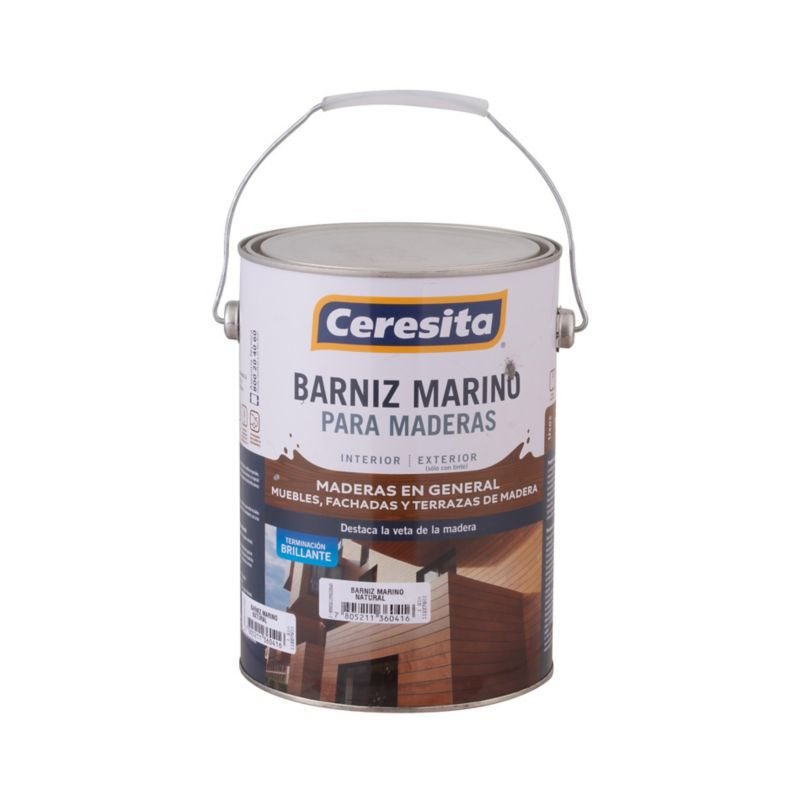Barnices, protectores y stains