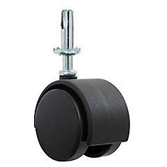 Rueda con pivote para mueble 50 mm