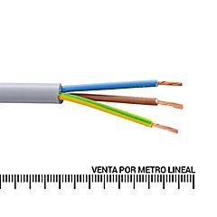 Cordón 3X1 mm2 metro lineal Gris