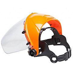 Protector facial amarillo