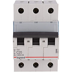 Interruptor automático trifásico 20 A