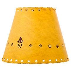 Pantalla para lámpara beige