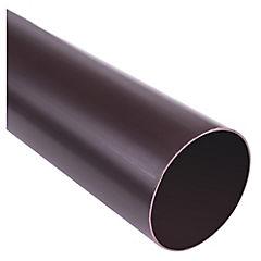 Tubo bajada PVC 3 m marrón