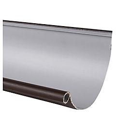 Canaleta PVC marrón 4 m