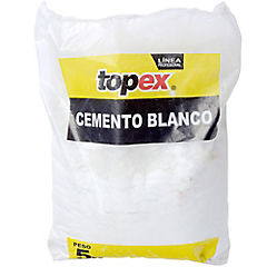 Cemento blanco 5 kg.