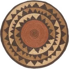 JUST HOME COLLECTION - Alfombra redonda Tonga 90 cm