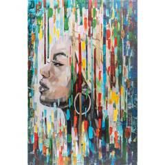 HOMY - Canvas afrowo 3 80x120 cm